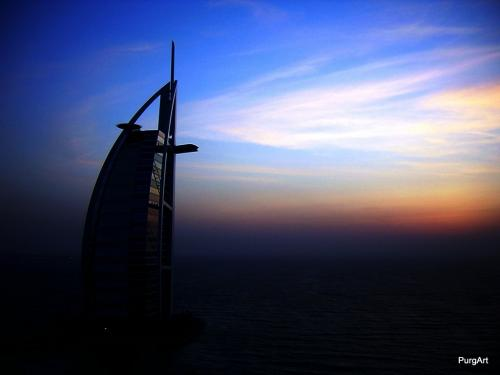 burj-al-arab-sunset